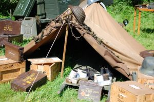 Spotlight On:  In Tents - Re-enactor Display Era Tents