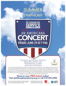 An Americana Concert @ Soldiers & Sailors Memorial Hall & Museum