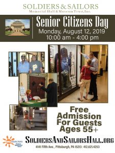 National Senior Citizens Day @ Soldiers & Sailors Memorial Hall & Museum
