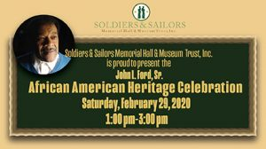 John L. Ford, Sr. African American Heritage Celebration: Fighting for Freedom: Blacks in the Military from World War II to 2020 @ Soldiers & Sailors