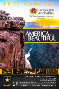 """The United States Army Field Band """"America The Beautiful"""" Concert - FREE @ Soldiers & Sailors Memorial Hall"""